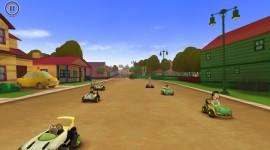 Garfield Kart Desktop Wallpaper