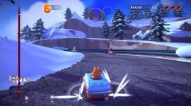 Garfield Kart Desktop Wallpaper For PC