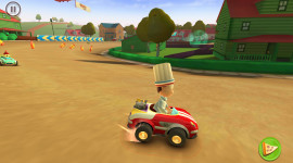 Garfield Kart Picture Download