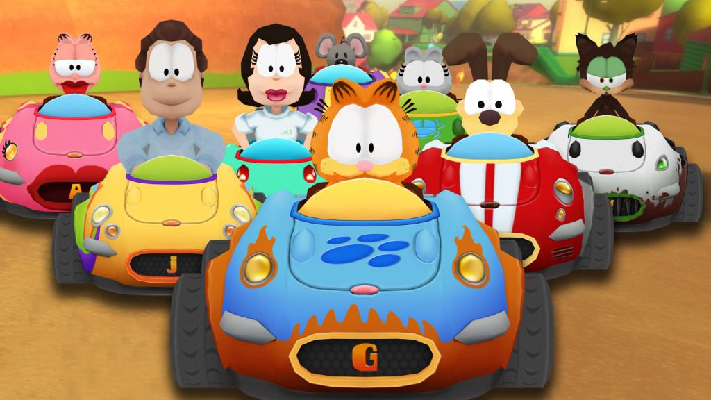 Garfield Kart wallpapers HD