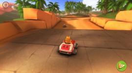 Garfield Kart Wallpaper 1080p