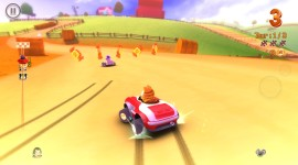 Garfield Kart Wallpaper For PC