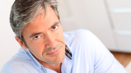 Gray Haired Man Picture Download