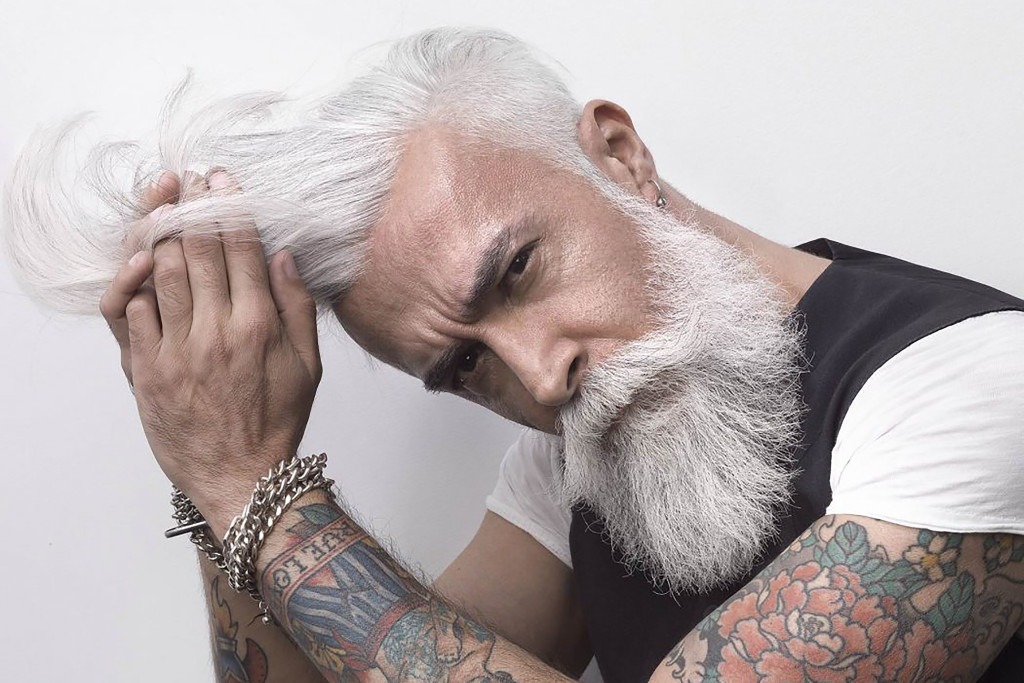 Gray Haired Man wallpapers HD