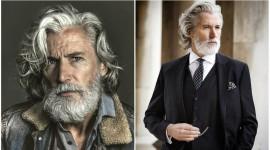 Gray Haired Man Wallpaper 1080p