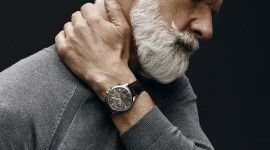 Gray Haired Man Wallpaper For Mobile#1
