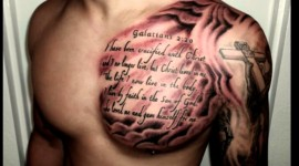 Guy Tattoos Prayer Image