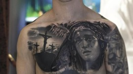 Guy Tattoos Prayer Photo Download