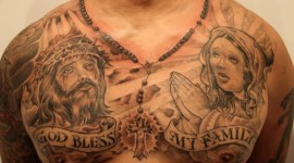 Guy Tattoos Prayer Photo Free