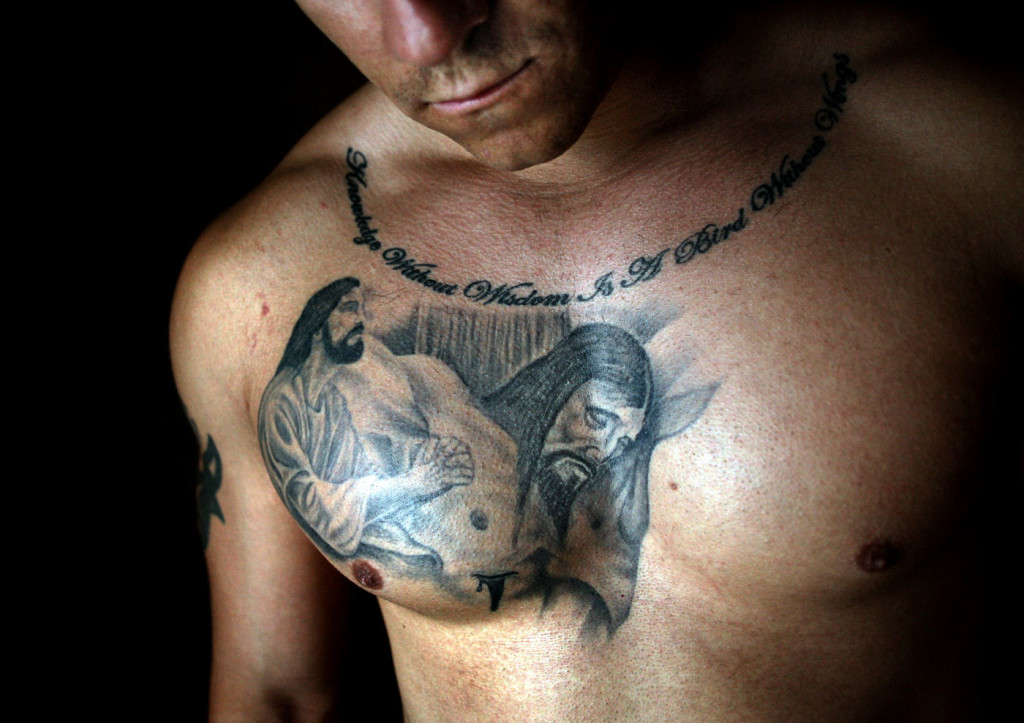 Guy Tattoos Prayer wallpapers HD