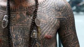 Guy Tattoos Prayer Wallpaper Full HD