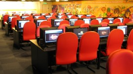 Internet Cafe Wallpaper Full HD