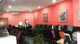 Internet Cafe Wallpaper HD