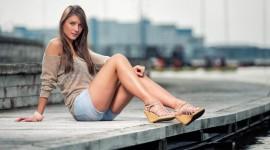 Legs Model Wallpaper