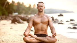 Male Yoga Wallpaper For PC