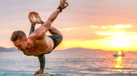 Male Yoga Wallpaper Free