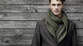 Man Scarf Wallpaper For Desktop