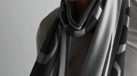 Man Scarf Wallpaper For IPhone