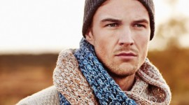Man Scarf Wallpaper For PC