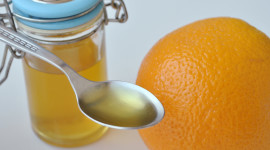 Orange Peel Desktop Wallpaper HD