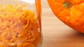 Orange Peel Wallpaper For IPhone