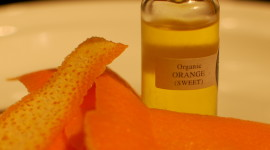 Orange Peel Wallpaper Full HD