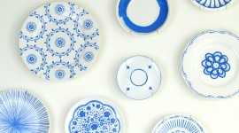 Painted Plates Wallpaper Gallery