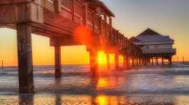 Pier Sunsets Photo