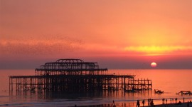 Pier Sunsets Photo Download