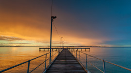 Pier Sunsets Picture Download