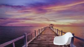 Pier Sunsets Wallpaper For Mobile
