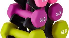 Pink Dumbbells Wallpaper HQ