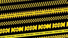 Police Line Do Not Cross Desktop Wallpaper