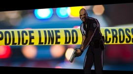 Police Line Do Not Cross High Quality Wallpaper
