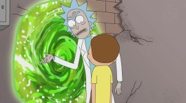 Rick And Morty Portal Wallpaper Download Free
