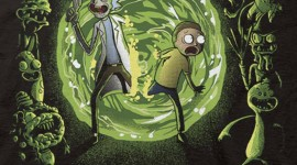 Rick And Morty Portal Wallpaper For IPhone Download