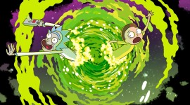 Rick And Morty Portal Wallpaper Free