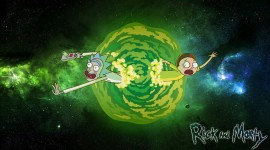 Rick And Morty Portal Wallpaper High Definition