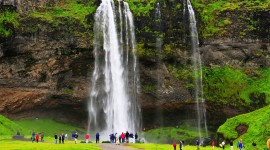Seljalandsfoss Wallpaper For PC