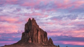 Shiprock Sunsets Photo Free