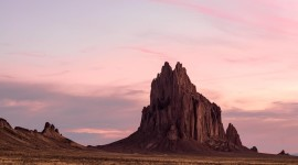 Shiprock Sunsets Picture Download