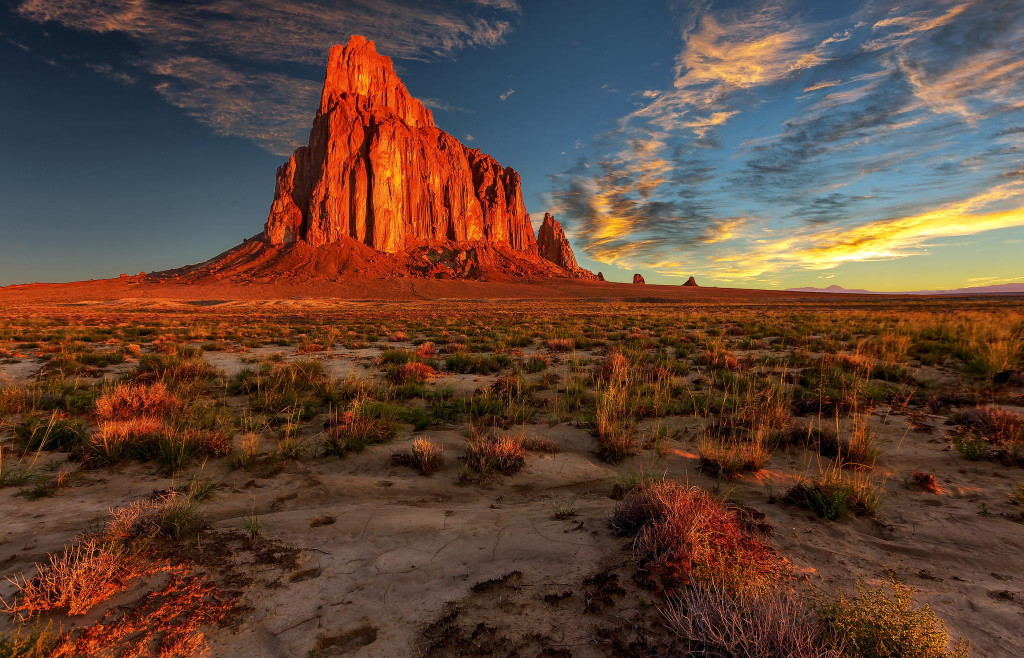 Shiprock Sunsets wallpapers HD
