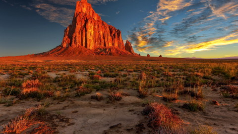 Shiprock Sunsets wallpapers high quality