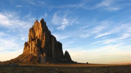 Shiprock Sunsets Wallpaper For Desktop