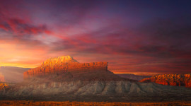 Shiprock Sunsets Wallpaper For PC