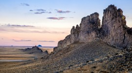 Shiprock Sunsets Wallpaper Free