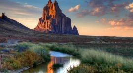 Shiprock Sunsets Wallpaper HQ