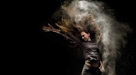 Smoke Dance Wallpaper For Desktop