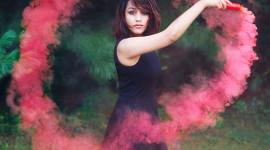 Smoke Dance Wallpaper For Mobile#1