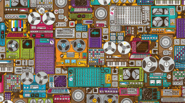 Synthesizer Wallpaper